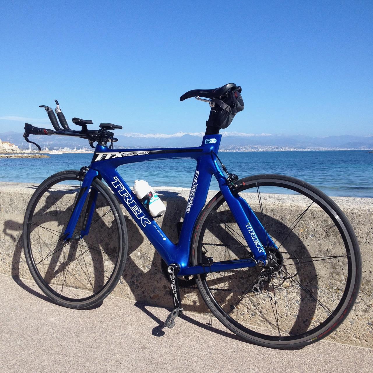 Coastal cycling the French mediterranean
