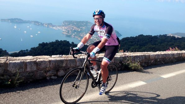 English-speaking cycling tours Col d'Eze
